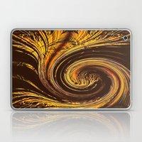 Golden Filigree Germination Laptop & iPad Skin