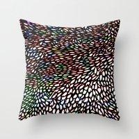 Shallcrass Coloured Patt… Throw Pillow
