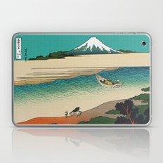 Tama River and Mount Fuji Laptop & iPad Skin