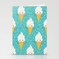 Ice Cream Party! Stationery Cards