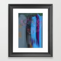 transparent evening Framed Art Print