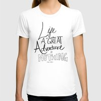 adventure T-shirts featuring Great Adventure by Leah Flores