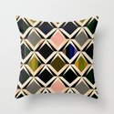 discovering diamonds Throw Pillow