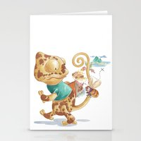 Finding Treasure Island Stationery Cards