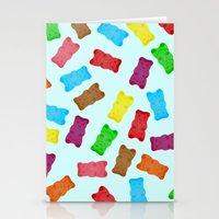 Gummy Bears Stationery Cards
