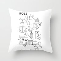 Rube Throw Pillow
