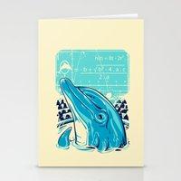 Aquatic problem Stationery Cards