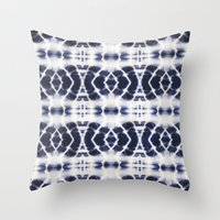 BOHOCHIC INDIGO DYE Throw Pillow