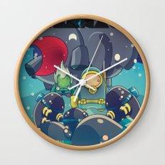 The Eternaut Wall Clock