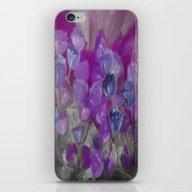 Violet Flower Garden Abs… iPhone & iPod Skin