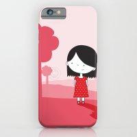 Polkadot Dress iPhone 6 Slim Case