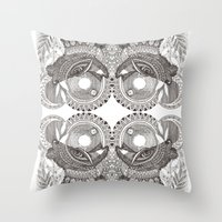 Janus Throw Pillow