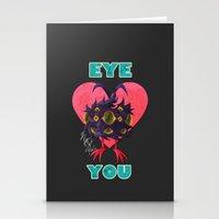 EYE ❤ YOU Stationery Cards