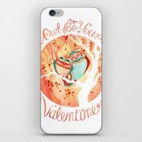 Owlentine iPhone & iPod Skin