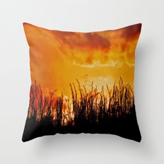 As the Day Fades Throw Pillow