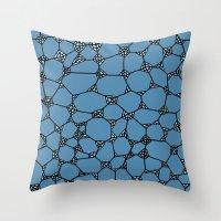 Yzor Pattern 006 Kitai B… Throw Pillow