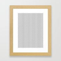 Geometrix 02 Framed Art Print