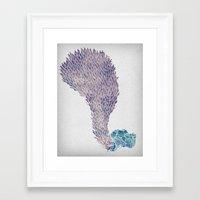 Framed Art Print featuring Stolen Souls by David Fleck