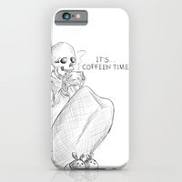 iPhone & iPod Case featuring coffeen time! by Elena Gianniki