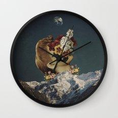 'Mourning At Morning' Wall Clock