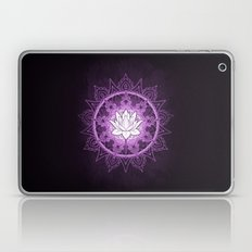 Purple Lotus Flower Laptop & iPad Skin