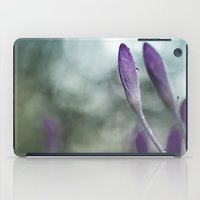 She has got the blues... iPad Case