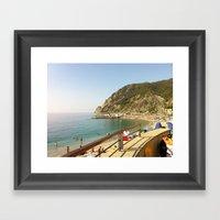 Monterosso Al Mare, Cinq… Framed Art Print