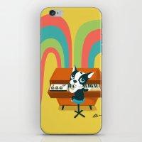Boogie on Mellotron iPhone & iPod Skin