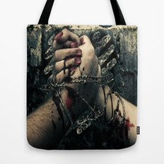 TIL DEATH DO US PART Tote Bag