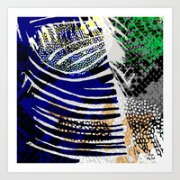 Confluence Animal Print Art Print