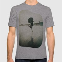 La danse de la pluie Mens Fitted Tee Athletic Grey SMALL