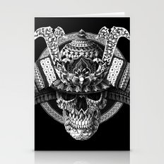 Samurai Skull Stationery Cards