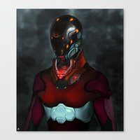 Mighty Morphin' Re-inven… Canvas Print