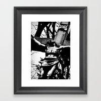 Forever Dying. Framed Art Print