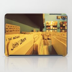 Inspiration personified. iPad Case