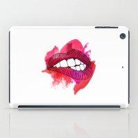 LIP BITE iPad Case