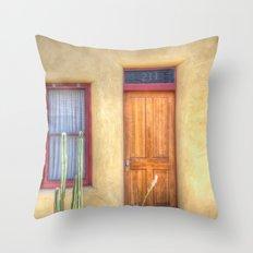 Barrio Viejo Throw Pillow