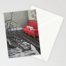 always say goodnight Stationery Cards