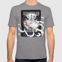 SLUMBER#69 Mens Fitted Tee Tri-Grey SMALL