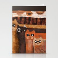 Cat Burglars Stationery Cards