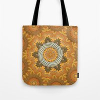 Twisted Rings Tote Bag