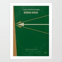 No237 My Robin Hood Mini… Art Print