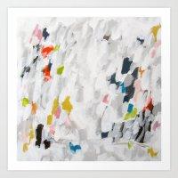 No. 71 Modern Abstract Painting Art Print