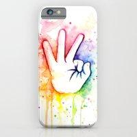 Tight Rainbow iPhone 6 Slim Case