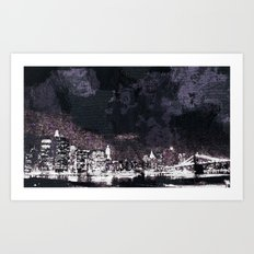 Night Life Art Print