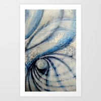 Art Print featuring Spin by Jacinda O'Neill