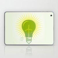 Bright Green Ideas Laptop & iPad Skin