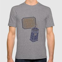Think Inside The Box Mens Fitted Tee Athletic Grey SMALL