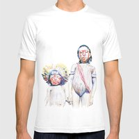 Maasai Mens Fitted Tee White SMALL