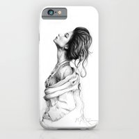 Pretty Lady Illustration iPhone 6 Slim Case